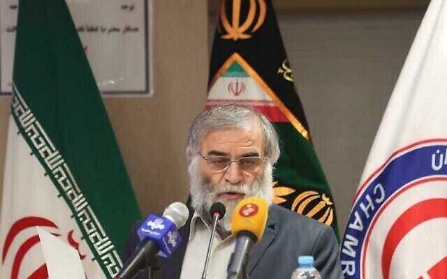 تصویر: محسن فخری زاده دانشمند هسته ای رژیم ایران. (Agencies)