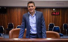 تصویر: آمیخای چیئلی نمایندهٔ کنست از حزب یمینا. (Olivier Fitousi/Flash90)