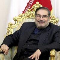 تصویر: «علی شمخانی» دبیر شورای عالی امنیت ملی رژیم ایران، تهران، ایران، ۱۷ ژانویه ۲۰۱۷.  (Ebrahim Noroozi/ AP/ File)