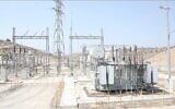 تصویر: کارخانه جدید برق کرانه باختری که اسرائیل کنترل آن را به فلسطینیان منتقل کرد.  (IDF Coordinator of Government Activity in the Territories)