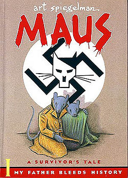 Art Spiegelman, MAUS (photo credit: Book cover, Wikimedia commons)