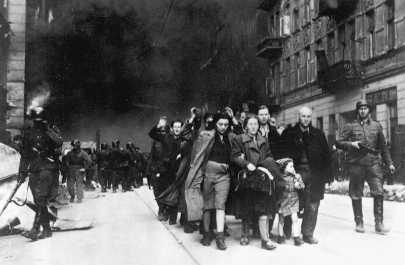 Stroop_Report_-_Warsaw_Ghetto_Uprising_09 (Photo from Jürgen Stroop Report to Heinrich Himmler from May 1943, Wikimedia Commons )
