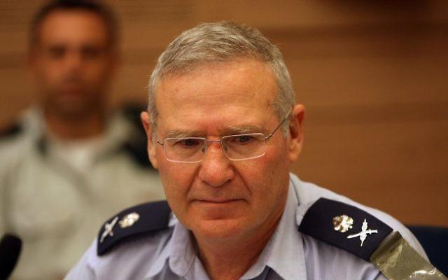 Amos Yadlin, ancien chef des Renseignements militaires (Crédit : Kobi Gideon/Flash90)