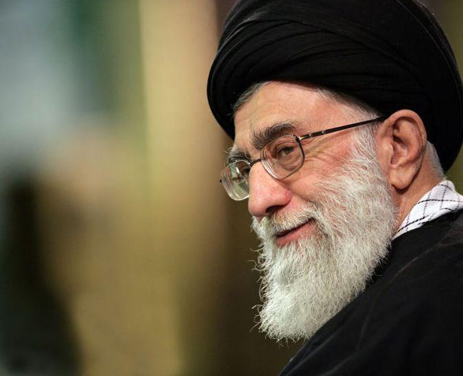 Iranian Supreme Leader Ayatollah Ali Khamenei (photo credit: CC-BY Wikipedia/sajed.ir/File)