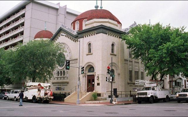La synagogue Sixth and I de Washington, D.C.  (Crédit: FlickrDelusions by Howard Stanbury/ CC BY-NC-SA)