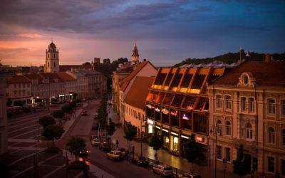 Vue sur Vilnius (Best Tourism website)