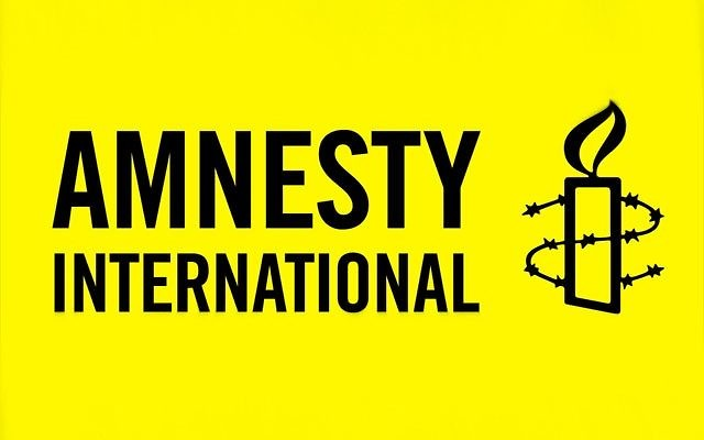 Logo d'Amnesty International. (Crédit : domaine public)