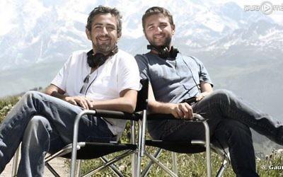 Eric Toledano (gauche) et Olivier Nakache (Crédit : autorisation)