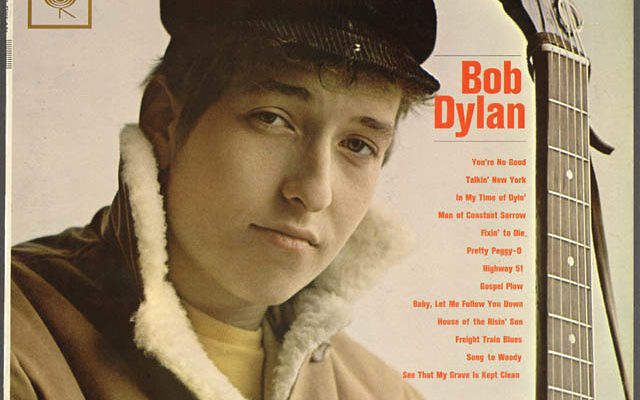 "Bob Dylan (photo credit: ""Bob Dylan"" album cover)"