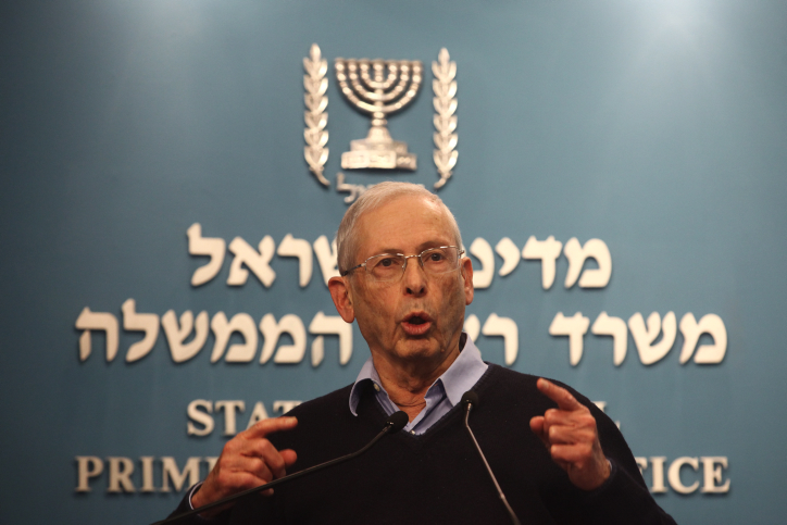 MK Benny Begin (Likud) (photo credit: Kobi Gideon/Flash90)