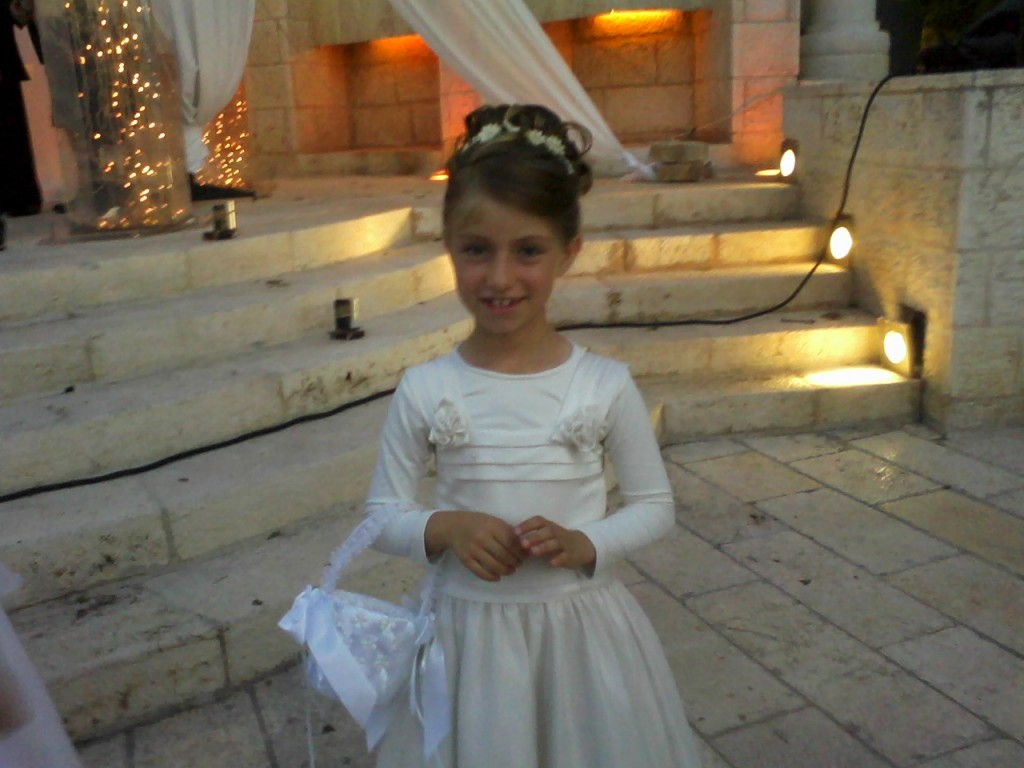 Reproduction photo of 8-year-old Miriam Monsonego, daughter of school headmaster Rabbi Yaacov Monsonego, who was killed in a shooting attack at the Ozar Hatorah School in Toulouse, France, early Monday morning. (photo credit: Flash90)