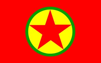 The PKK flag.