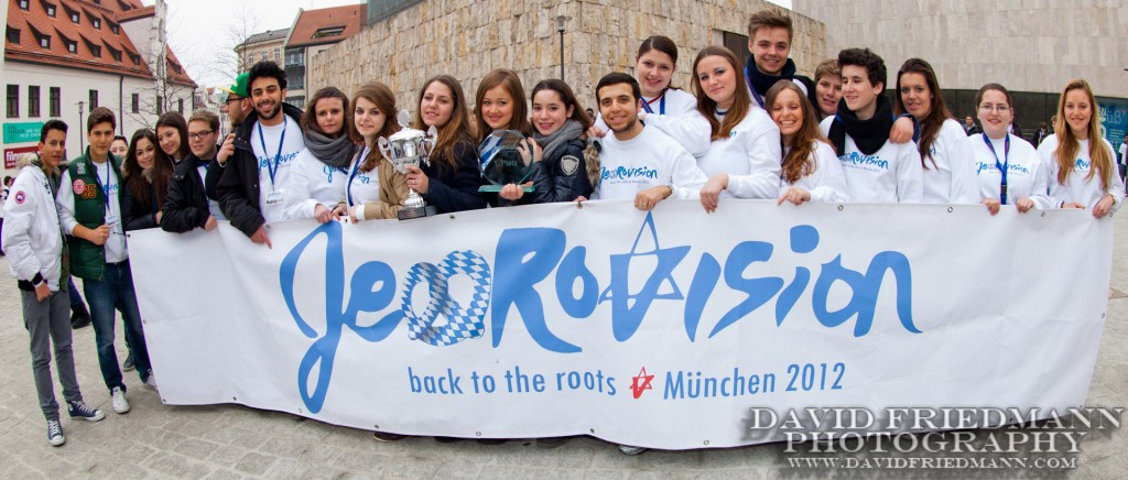 Jewrovision participants in Germany this weekend. (Photo credit: Courtesy)