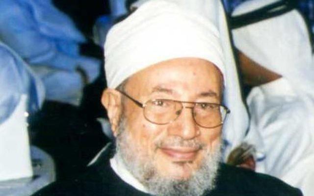 Youssef al-Qaradawi (Crédit : CC-BY Nmkuttiady/Wikipedia)