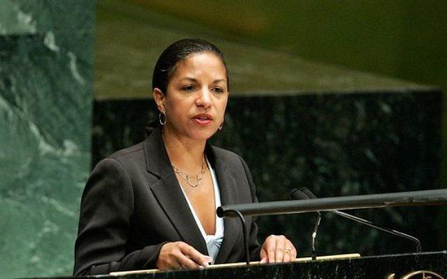 Susan Rice, conseillère à la sécurité nationale des Etats-Unis. (Crédit : Nations unies)