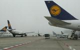 Image illustrative d'un avion de la Lufthansa. (Crédit : Kobi Gideon/Flash90)