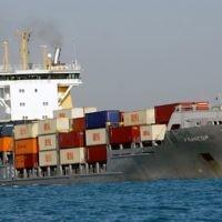 Illustration: un navire cargo (Crédit: Tsahal/Flash90/File)