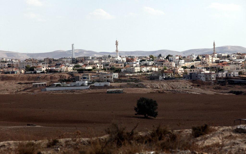 La ville bédouine de Rahat dans le nord du Néguev (Crédit photo: Yossi Zamir / Flash90)