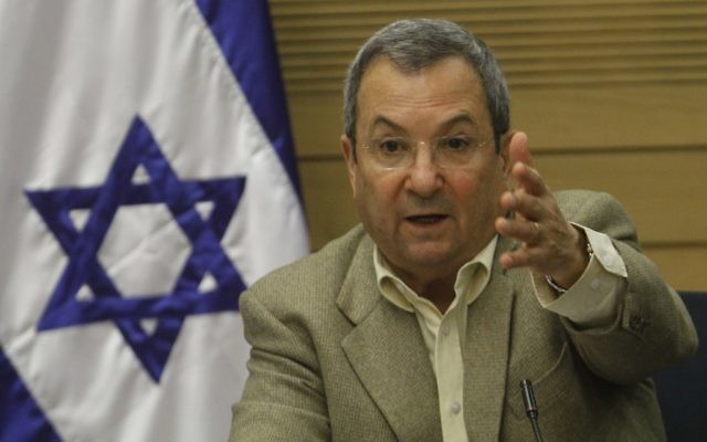 Ehud Barak (Crédit : Miriam Alster/Flash90)