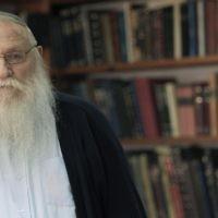 Le Rabbin Haïm Meïr Druckman. (Tsafrir Abayov/Flash90)