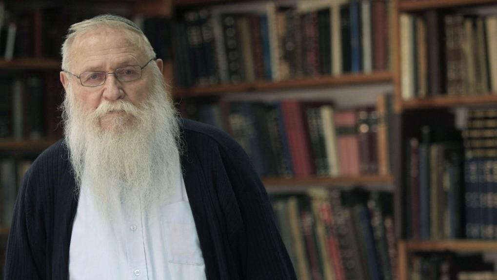 Rav Haïm Meir Druckman. (Tsafrir Abayov / Flash90)