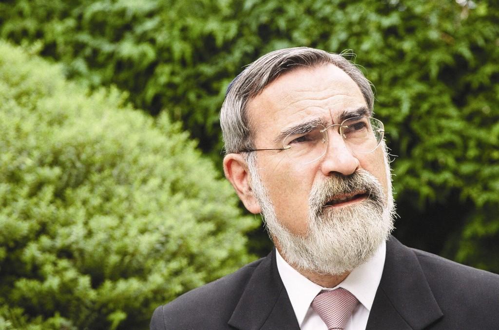 Rabbi Jonathan Sacks (photo credit: United Synagogue)