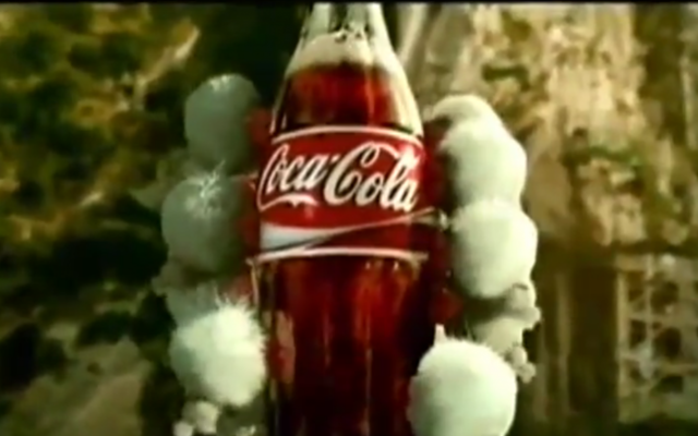 Coca-Cola (photo credit: capture d'écran YouTube)