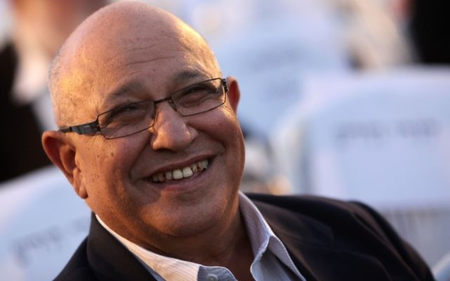 L'ancien directeur du Mossad, Meir Dagan, ici en mai 2011, est décédé à l'âge de 71 ans le 17 mars 2016. (Crédit : Kobi Gideon/Flash90)