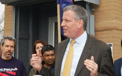Bill de Blasio, le maire démocrate de New York. (Crédit : BilldeBlasio.com)