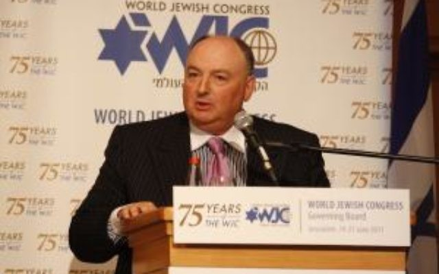 Moshe Kantor, président du Congrès juif européen (Photo : Courtesy Moshe Kantor)