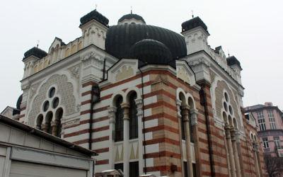 A synagogue à Sofia. (photo credit: CC-BY/Rachel Titiriga, Flickr)