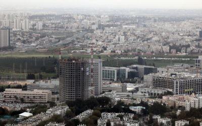 Le quartier Kiryat Atidim de Tel Aviv, centre de la high-tech de la ville. Illustration. (Crédit : Yossi Zamir/Flash90)