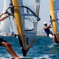 Le windsurfer israélien Shahar Zubari. (Crédit : Marko/Flash90/File)