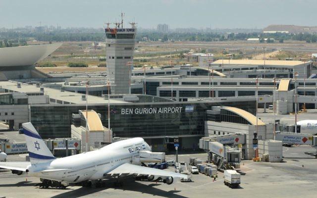 L'aéroport international Ben Gurion (Crédit : Yossi Zeliger/Flash90)