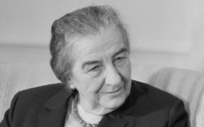 Golda Meir (Crédit: Wikimedia Commons)