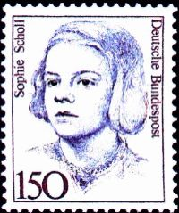 Sophie Scholl (photo credit: Wikimedia Commons)
