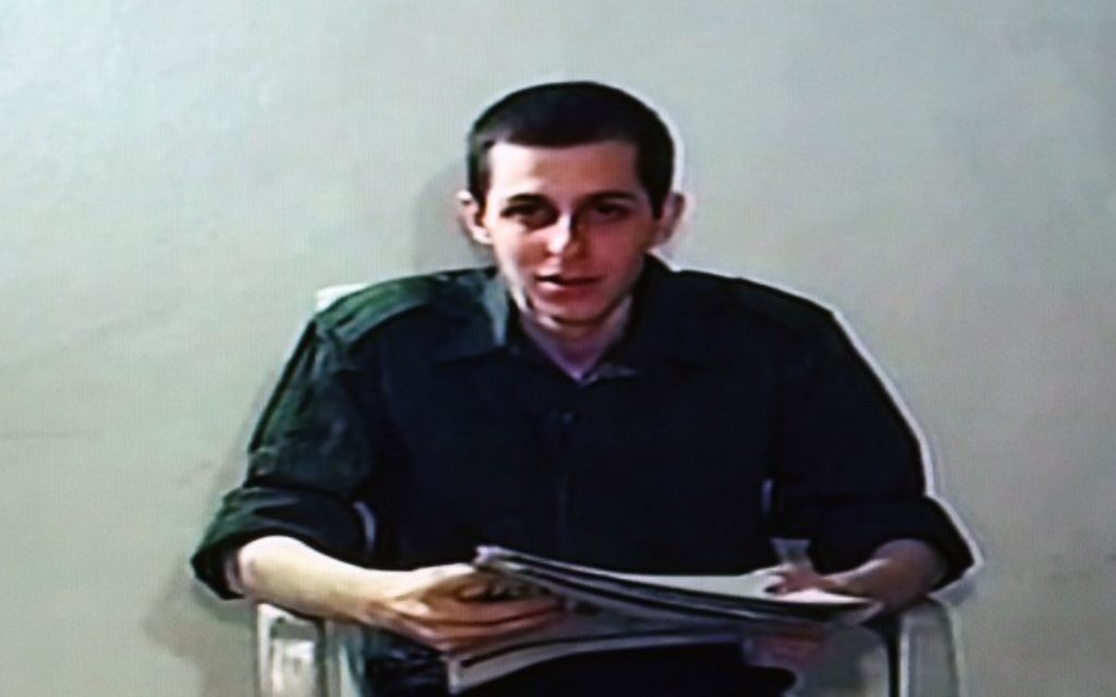 IDF soldier Gilad Shalit seen in a video clip released by Hamas during his captivity (photo credit: Nati Shohat/Flash90)