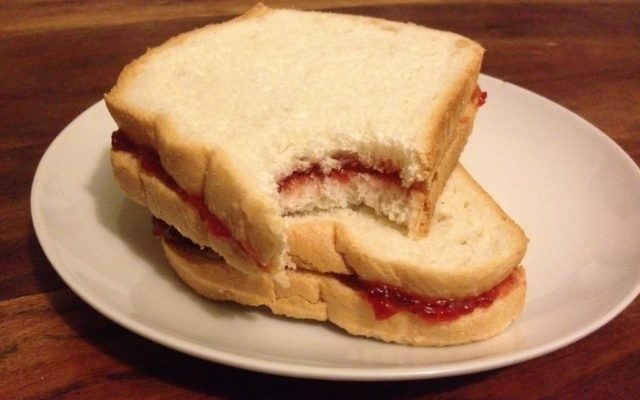 Jelly sandwiches (photo credit: Ron Friedman/Times of Israel)