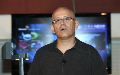 Yoram Ya'akobi, directeur du centre de R&D de Microsoft Israel (Crédit : autorisation)