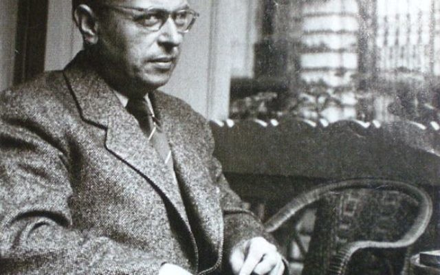 Jean Paul Sartre (photo credit: Wikimedia Commons)
