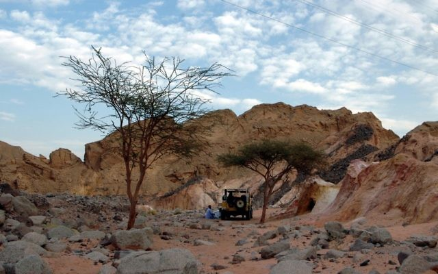 Sinai (Crédit : Yossi Zamir/Flash90)