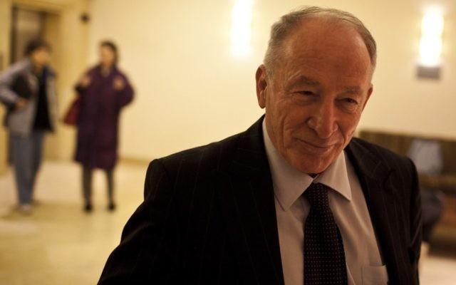 Le procureur général Yehuda Weinstein (crédit photo : Ilia Yefimovich/Flash90)