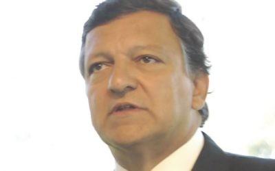 José Manuel Barroso (Crédit : CC BY SA MEDEF/Wikipedia)