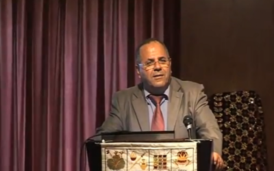 Ayoub Kara, député du Likud et vice ministre de la Coopération régionale. (Crédit : capture d'écran YouTube)