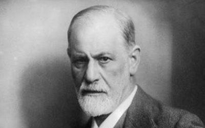 Sigmund Freud (Crédit : Max Halberstadt/LIFE/Wikimedia Commons)
