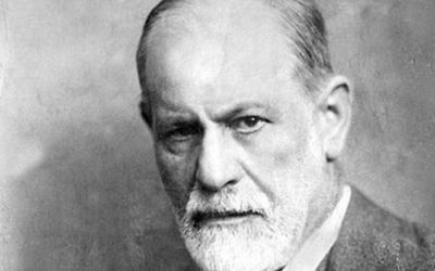 Sigmund Freud (Crédit : Max Halberstadt/LIFE/Wikimedia Commons)