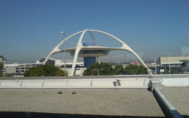 Los Angeles International airport where a shooting attacked occurred in 2002. (photo credit: CC BY 2.0, diongillard/Flickr)