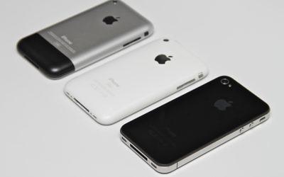 Illustration d'iPhones (Crédit : CC-BY Yutaka Tsutano/Flickr)