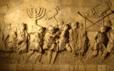 L'Arc de Titus (Crédit : CC-BY- Steerpike/Wikimedia Commons)