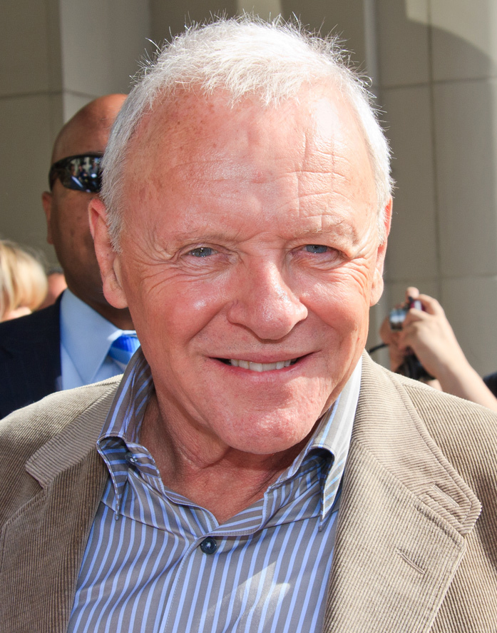 Anthony Hopkins, getting ready to play Methuselah. (photo credit: CC/gdcgraphics at http://flickr.com/photos/gdcgraphics/)